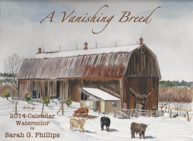 Cover for my 2014 Calendar