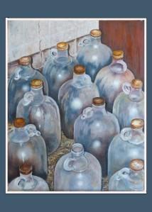 Dusty jugs