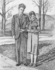 John and Joy's wedding