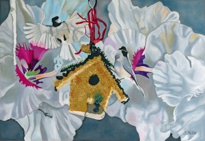 Mary's bird house 2