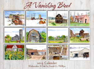 2014 Calendar A Vanishing Breed.