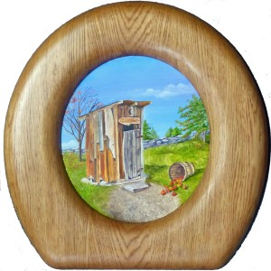 outhouse seat