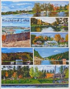Rushford Lake poster